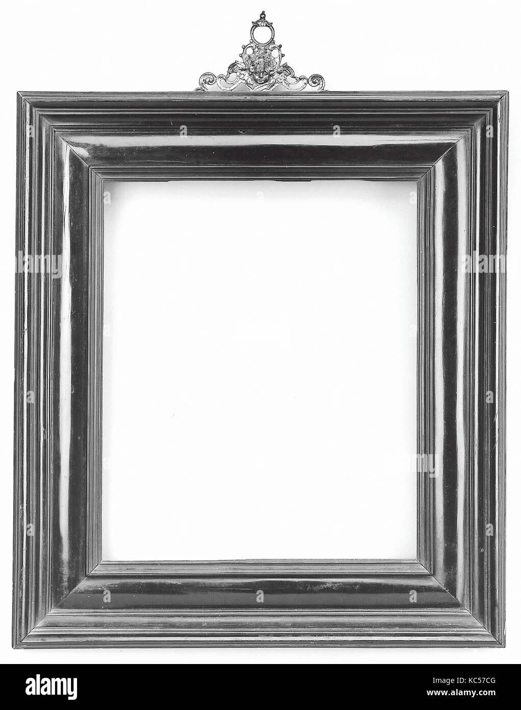 Cassetta frame, late 19th century, style mid-16th century - Stock Image