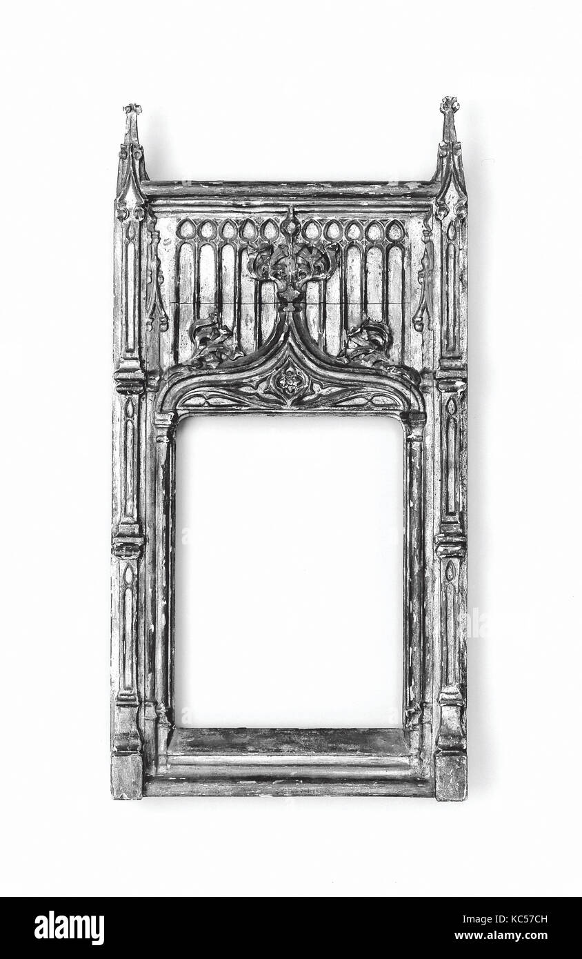 Tabernacle frame, late 19th century, style late 15th century - Stock Image