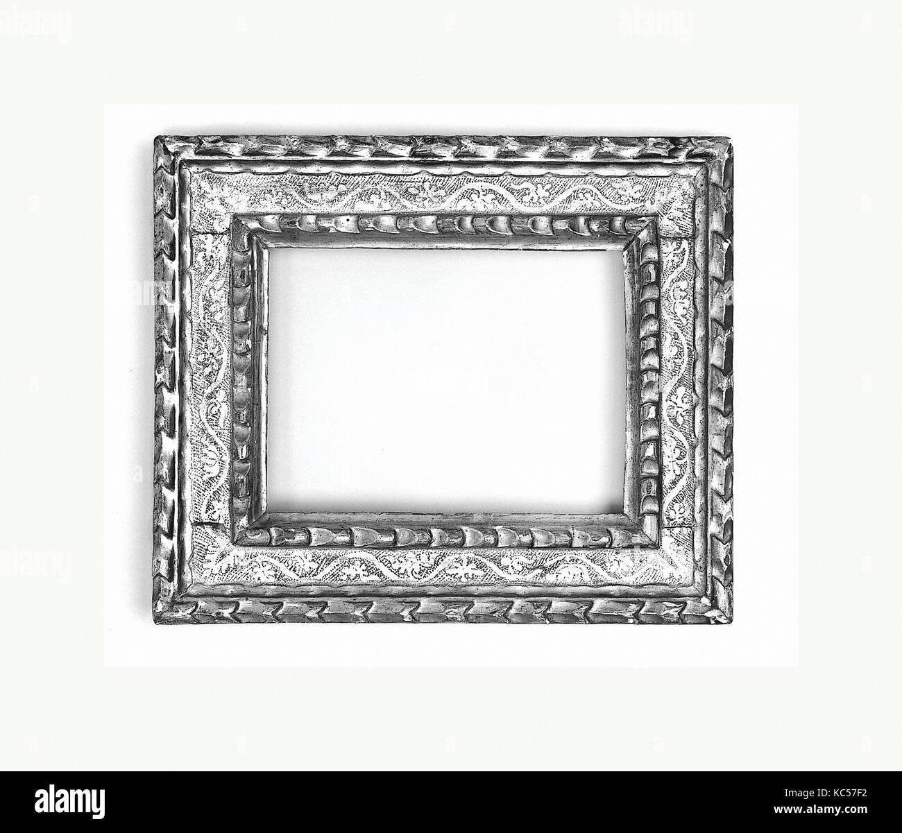 Cassetta frame, mid- to late 16th century, Italian, Bologna, Poplar ...