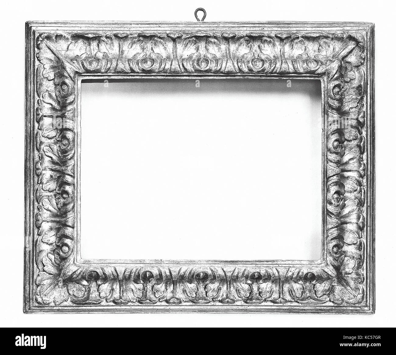 Reverse ogee frame, late 19th century (style 17th century - Stock Image