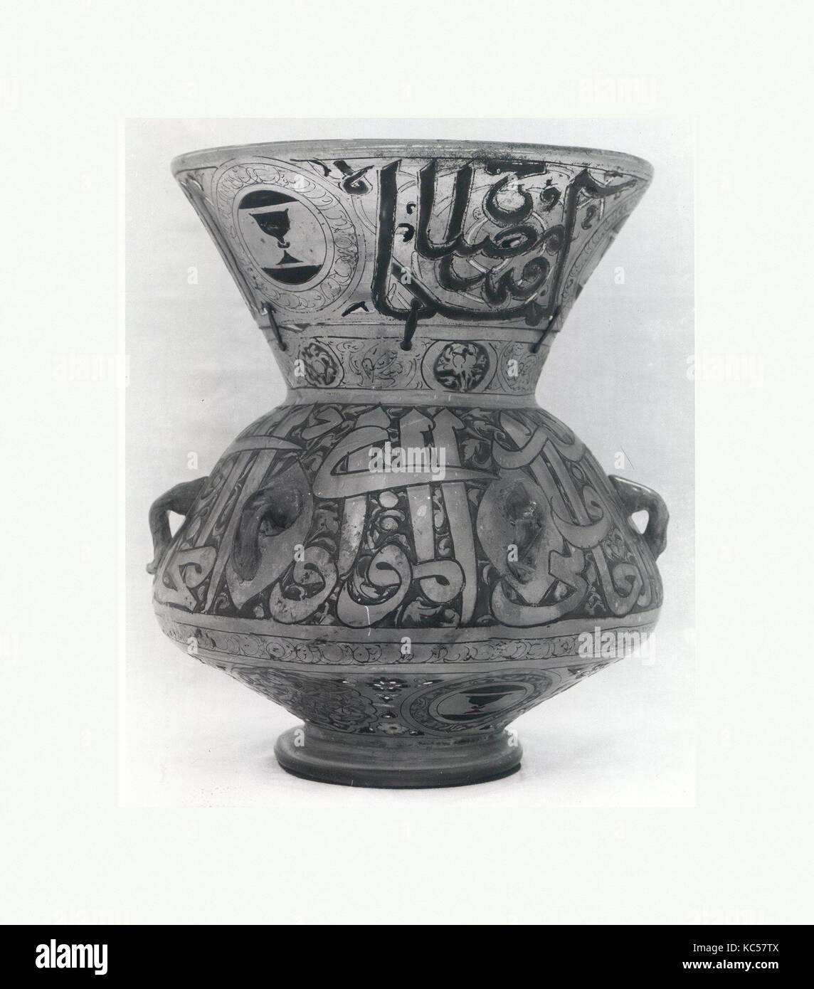 Mosque Lamp of Amir Sayf al-Din Shaykhu, ca. 1349–55 - Stock Image
