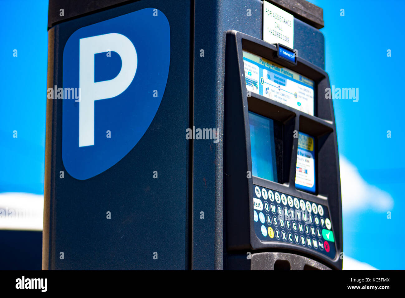 Parking meter - Stock Image