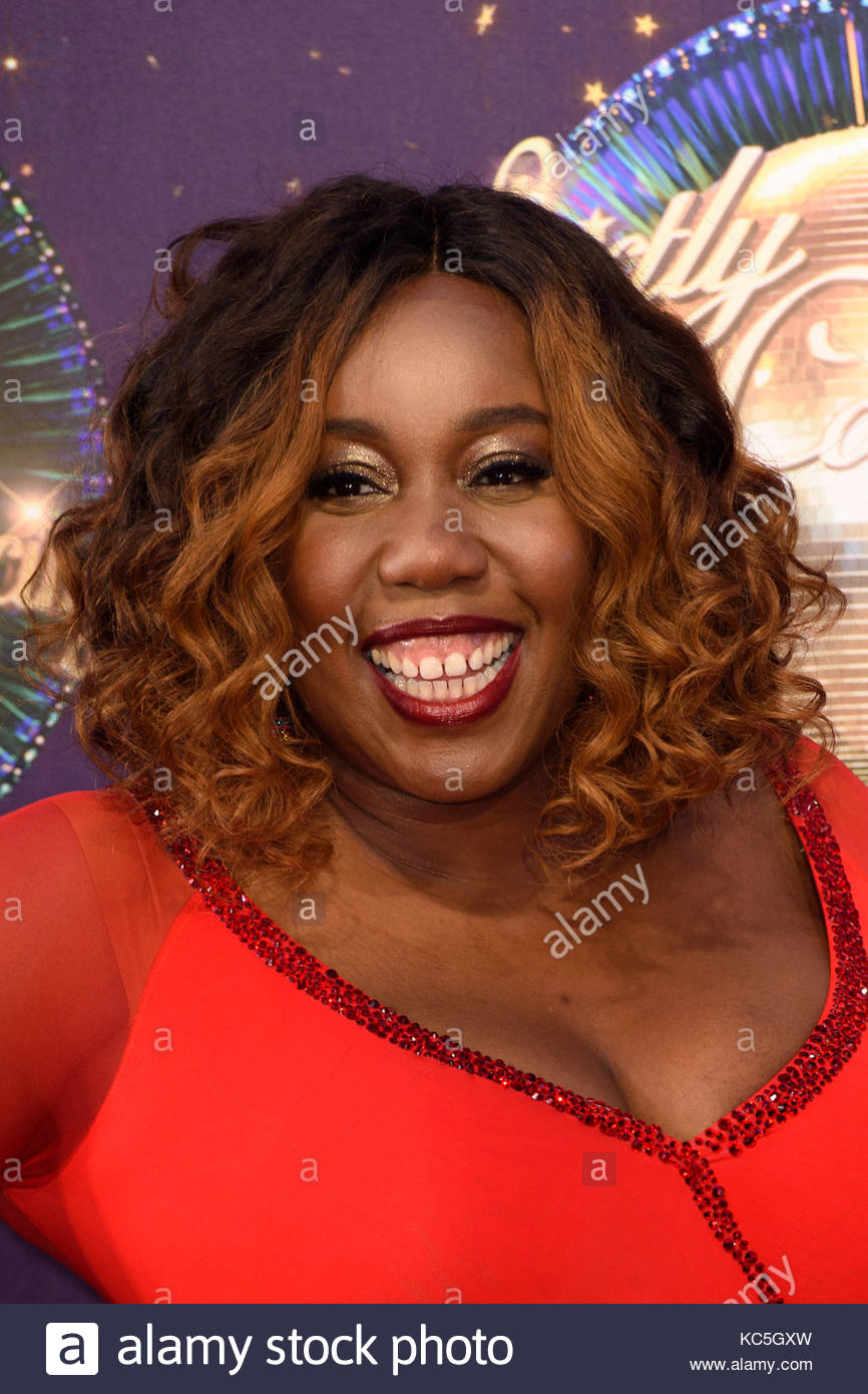 File photo dated 28-08-2017 of Chizzy Akudolu who said she was disappointed to have been booted off Strictly just Stock Photo