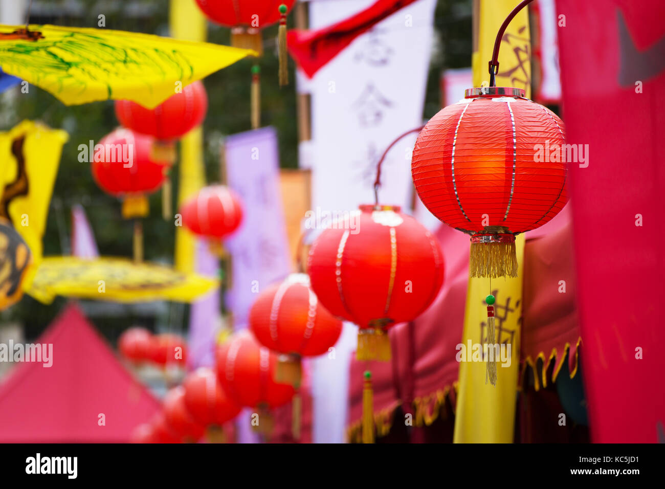 Chinese Market at the China Festival 2017 in Cologne, Germany. - Stock Image