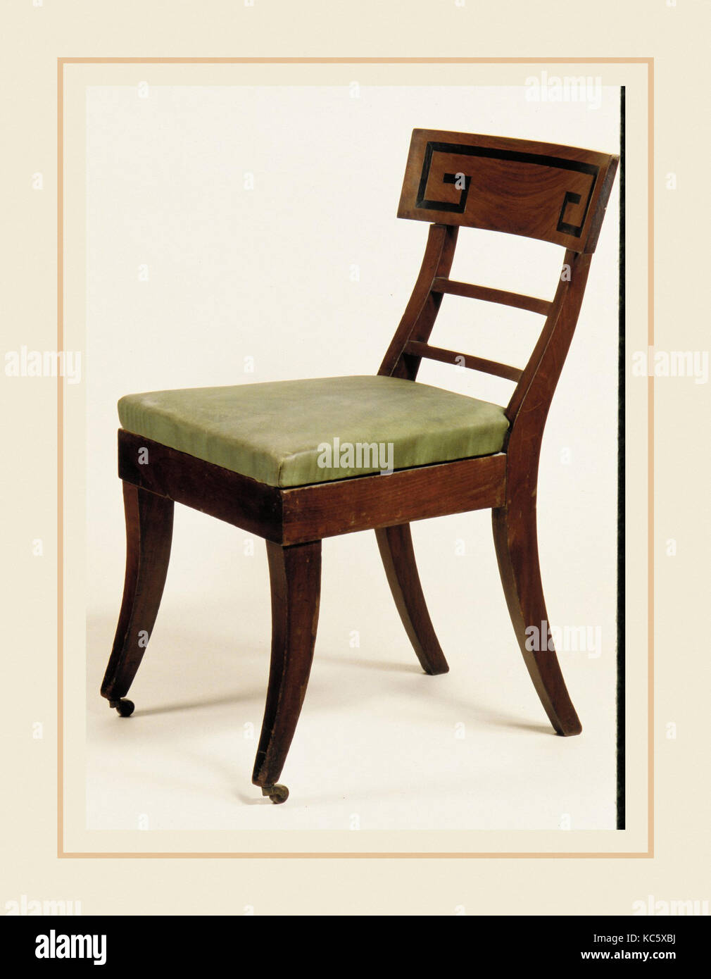 Chair mature ebony