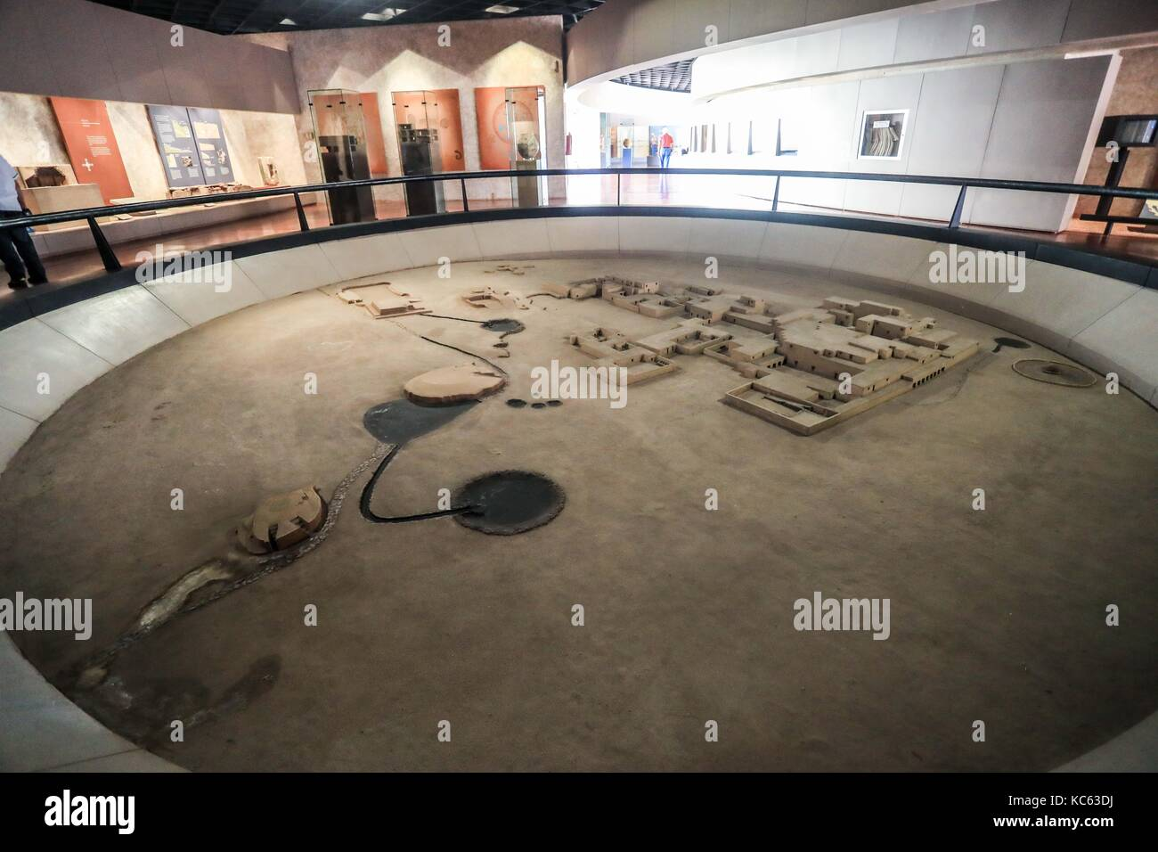 The Museum of Cultures North also denonominado as Paquimé Cultural Center; is a museum located in the archaeological - Stock Image