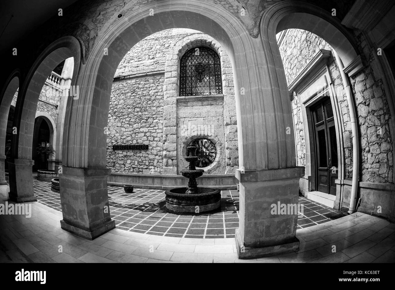 The Government Palace of the state of Chihuahua Mexico  Located in the Historic Center of the City of Chihuahua, - Stock Image