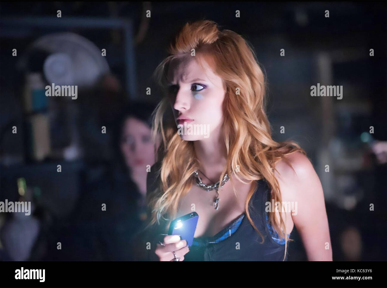 AMITYVILLE; THE AWAKENING 2017 Blumhouse Productions film with Bella Thorne - Stock Image