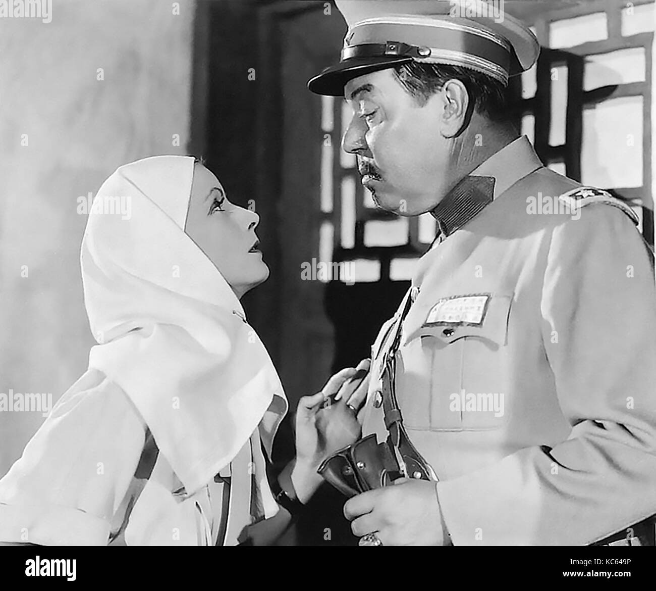 THE PAINTED VEIL 1934 MGM film with Greta Garbo and Warner Oland - Stock Image