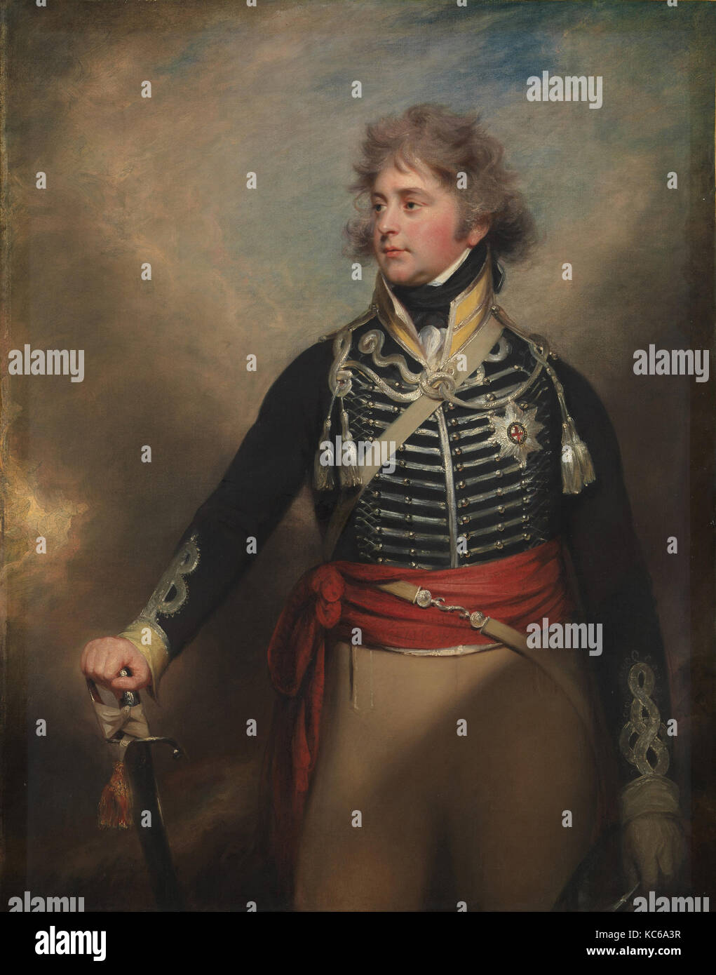 George IV (1762–1830), When Prince of Wales, Sir William Beechey - Stock Image