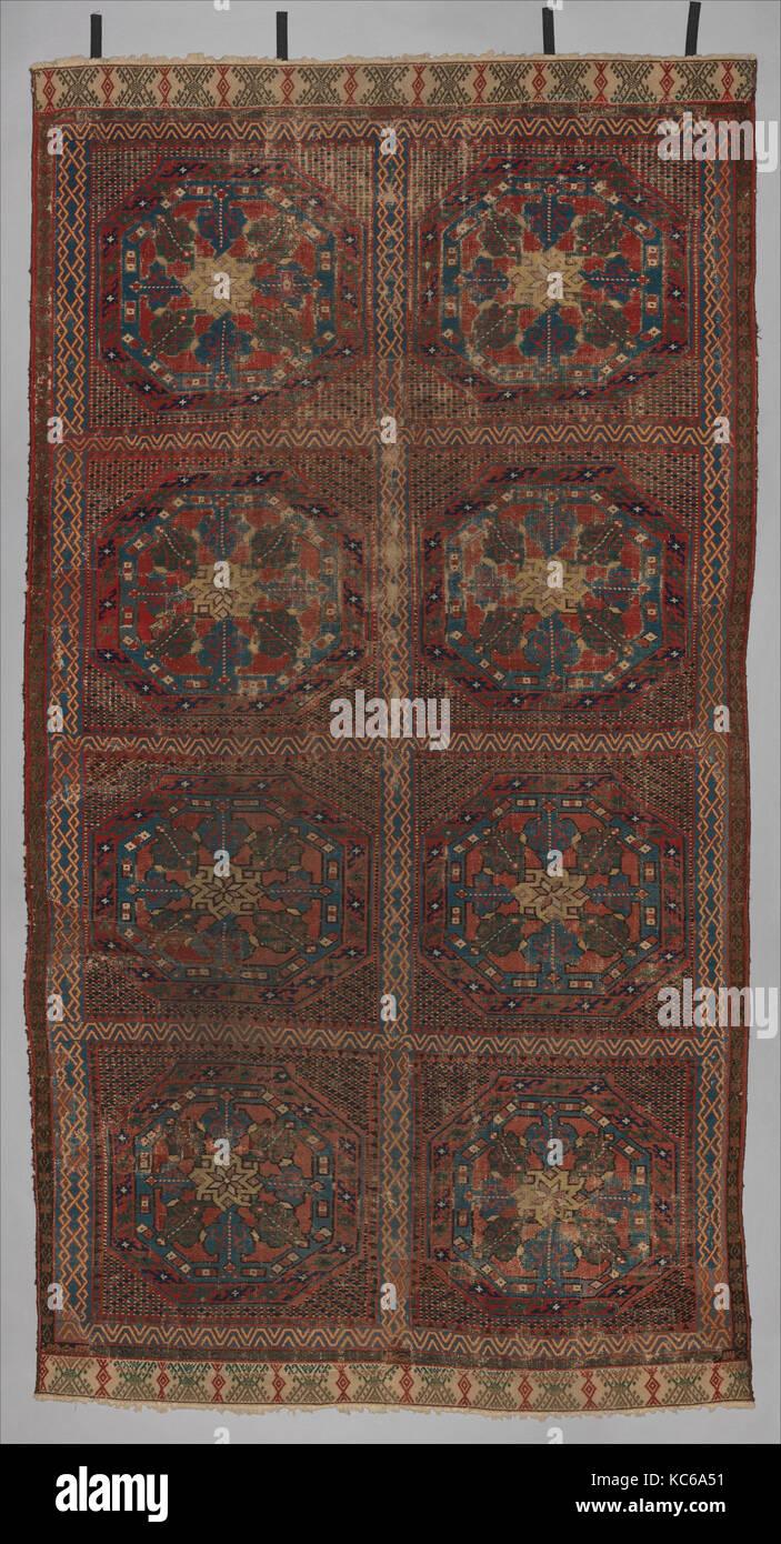 Carpet, first half 15th century, Made in Murcia, Spain, Spanish, Wool
