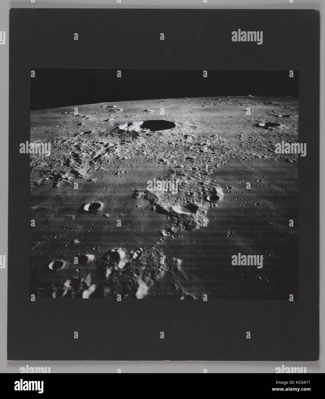 The Moon – Crater Kepler and Vicinity, National Aeronautics and Space Administration, 1967 - Stock Image