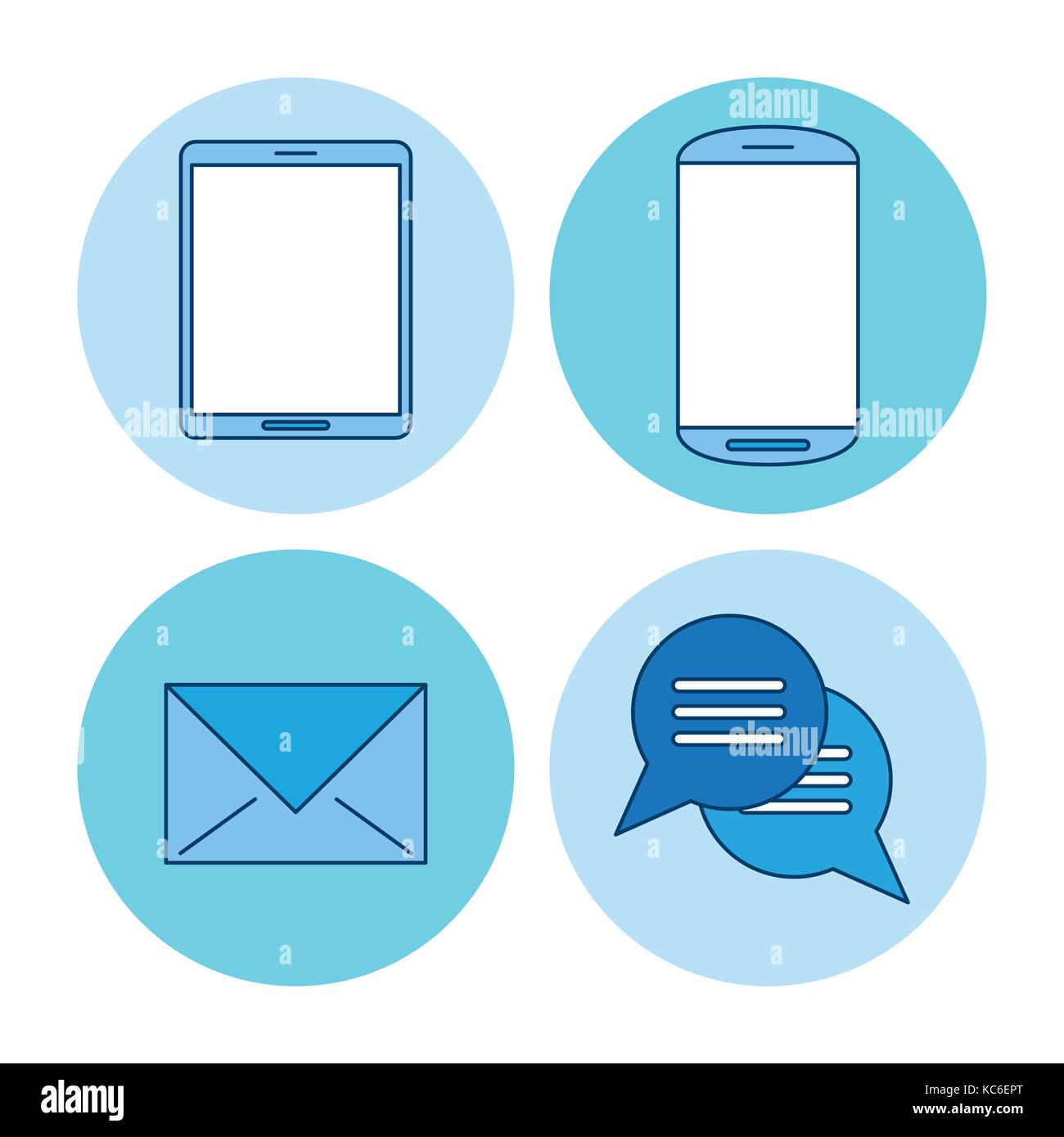 Chat and SMS - Stock Image