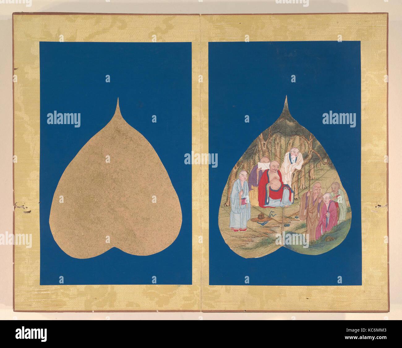 Album of Eighteen Arhat Paintings, 17th–18th century - Stock Image