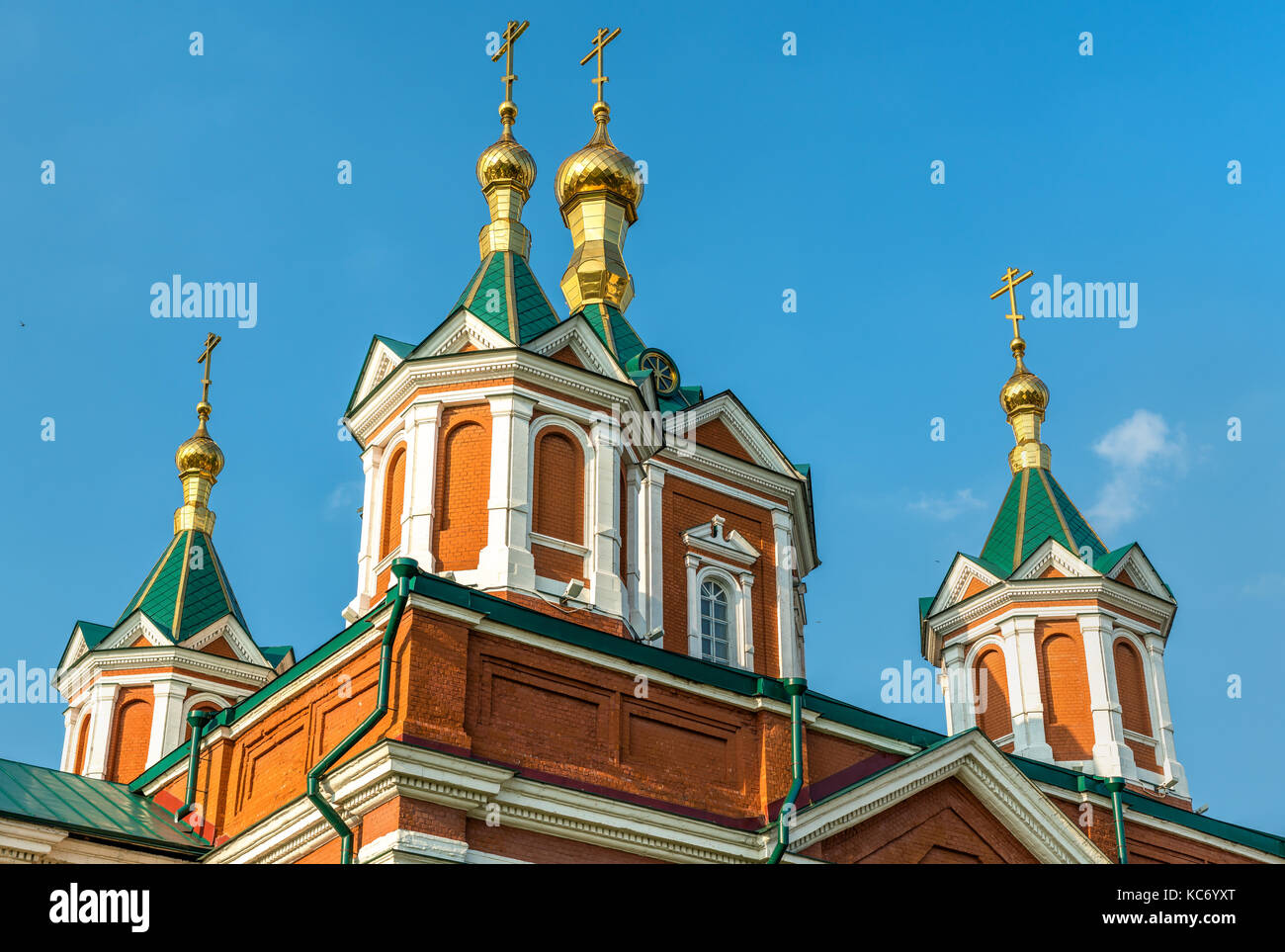 Cathedral of the Exaltation of the Holy Cross in Kolomna, Russia Stock Photo