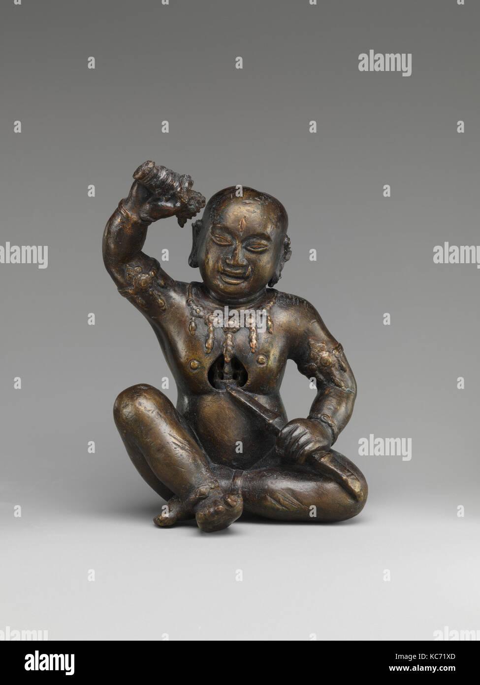 Esoteric Buddhist Personage, 15th century, Nepal (Kathmandu