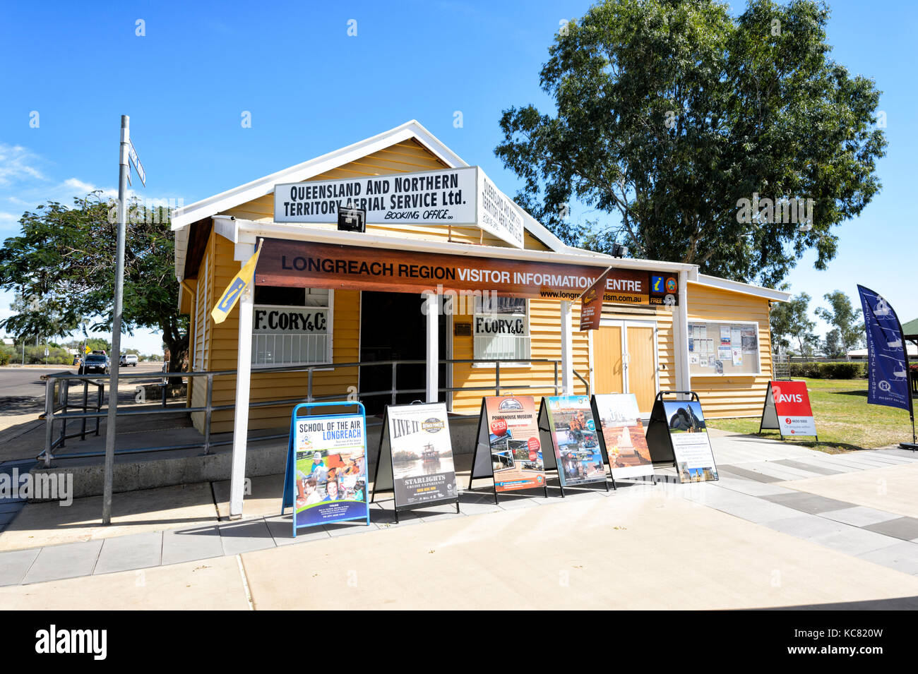 Visitor Information Centre at Longreach, Central West Queensland, QLD, Australia - Stock Image
