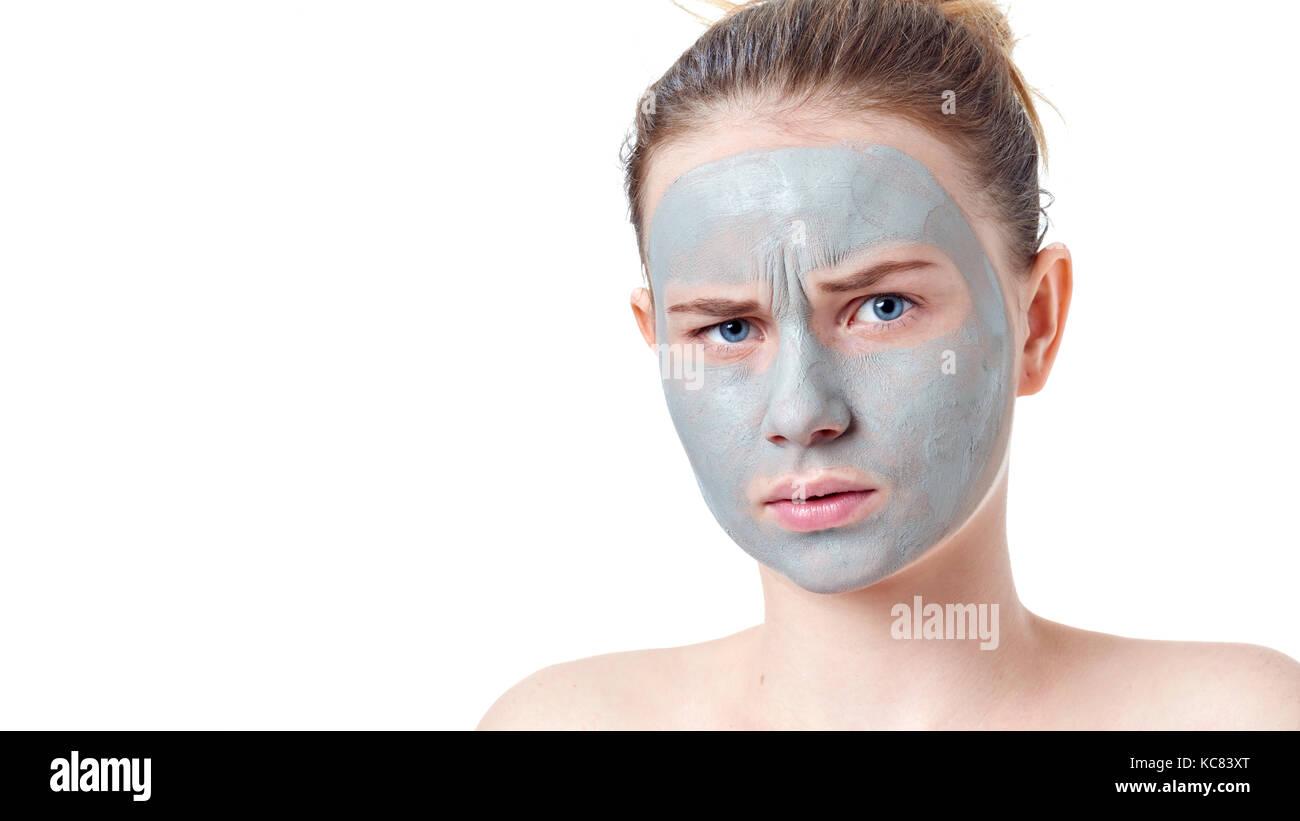 Regret, clay facial mask