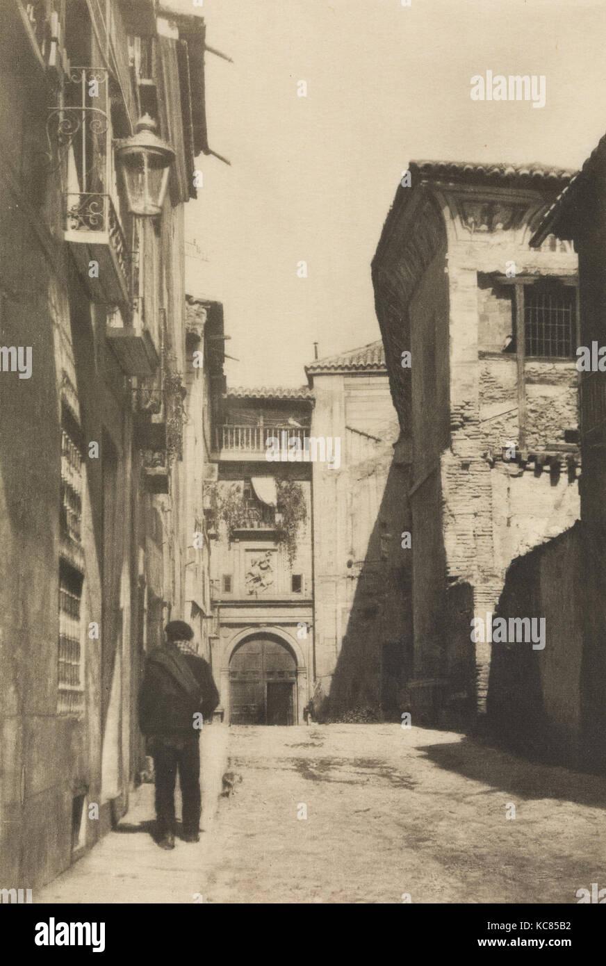Toledo, 1914, Photogravure, 19.9 x 13.4 cm. (7 13/16 x 5 1/4 in.), James Craig Annan (British, Hamilton, South Lanarkshire - Stock Image