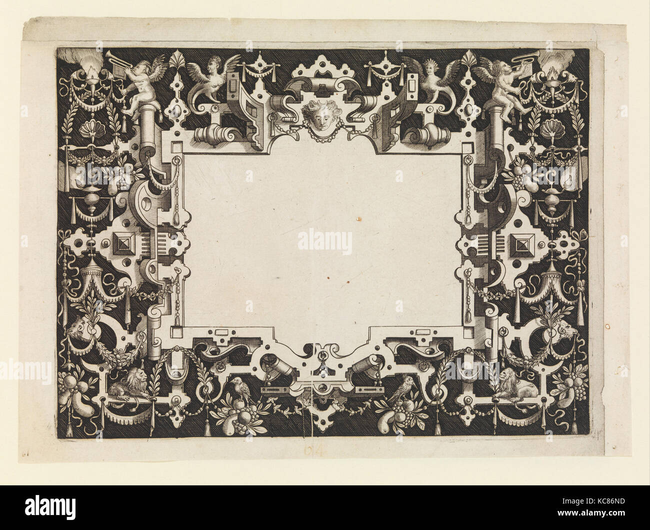 Frames for Mirrors, ca. 1600, Etchings, 11 3/8 x 14 3/16 x 1/8 in ...