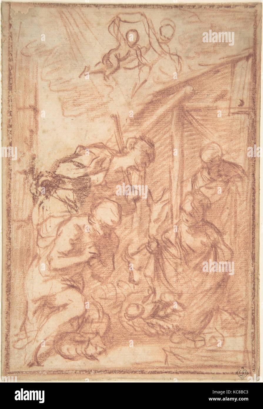 Adoration of the Shepherds, Francisco Vieira de Mattos, 1699–1783 - Stock Image