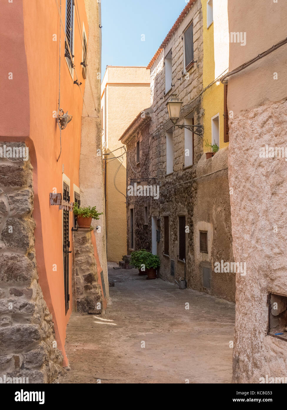 Castelsardo is a town and comune in Sardinia, Italy, located in the northwest of the island - Stock Image