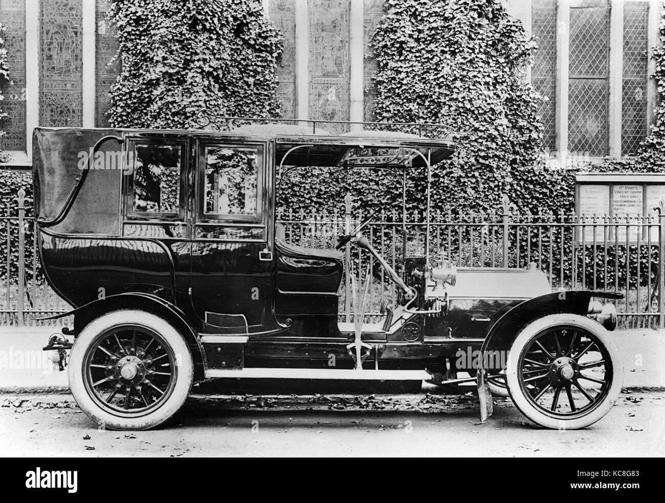 1908 Nagant - Hobson 20-30 hp - Stock Image
