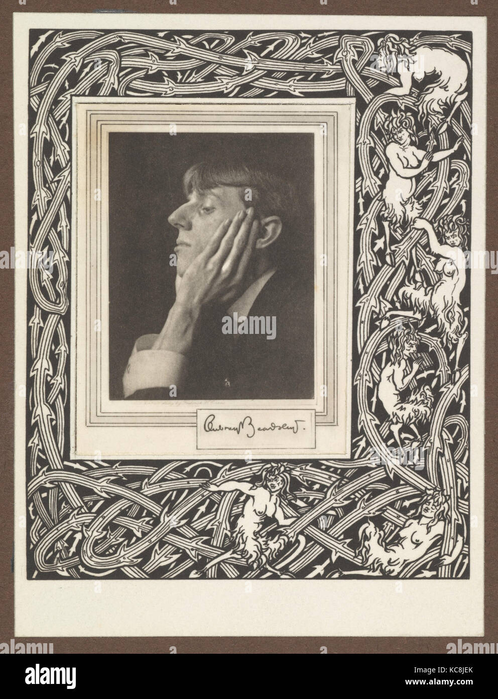209fcb221be Grotesques by Aubrey Beardsley. Facsimile Platinum Prints by Frederick H.  Evans from the Twelve