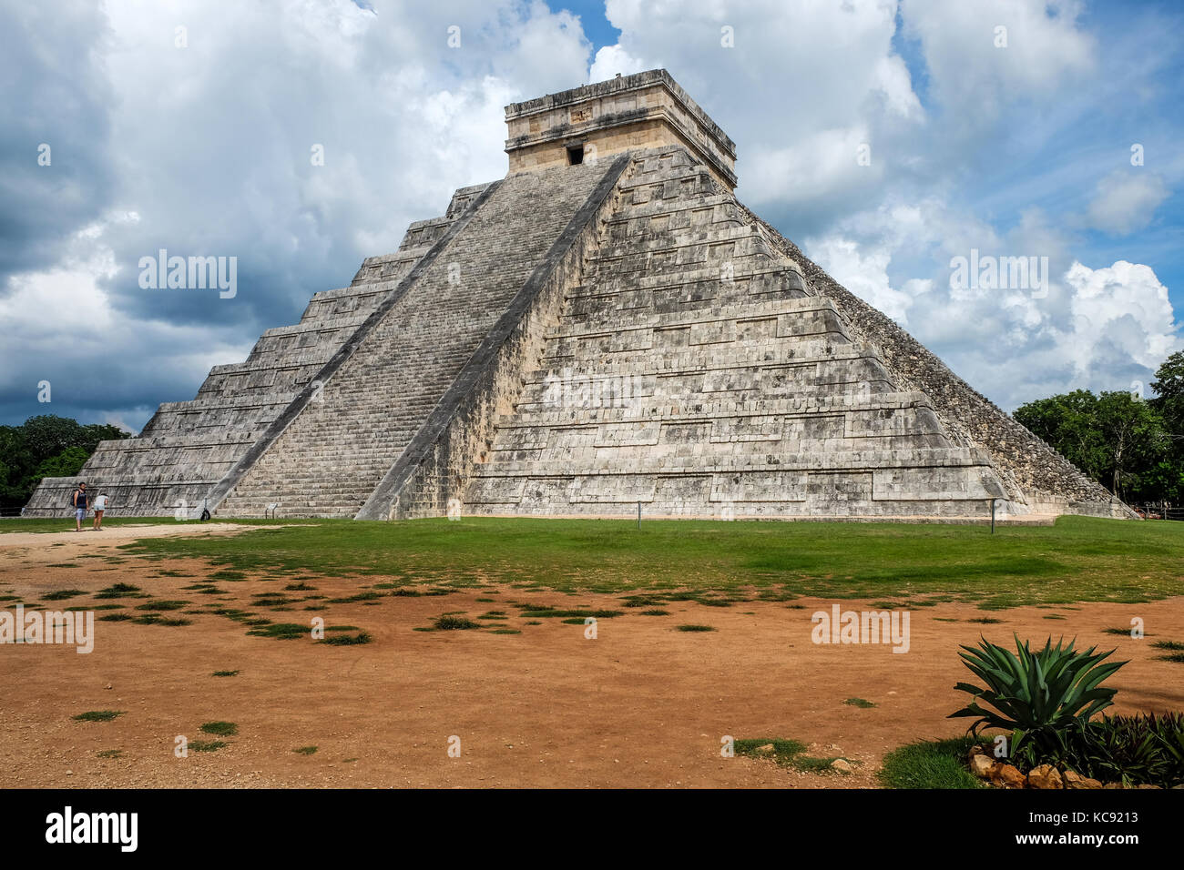 Chichen Itza archeological site Mexico - Stock Image