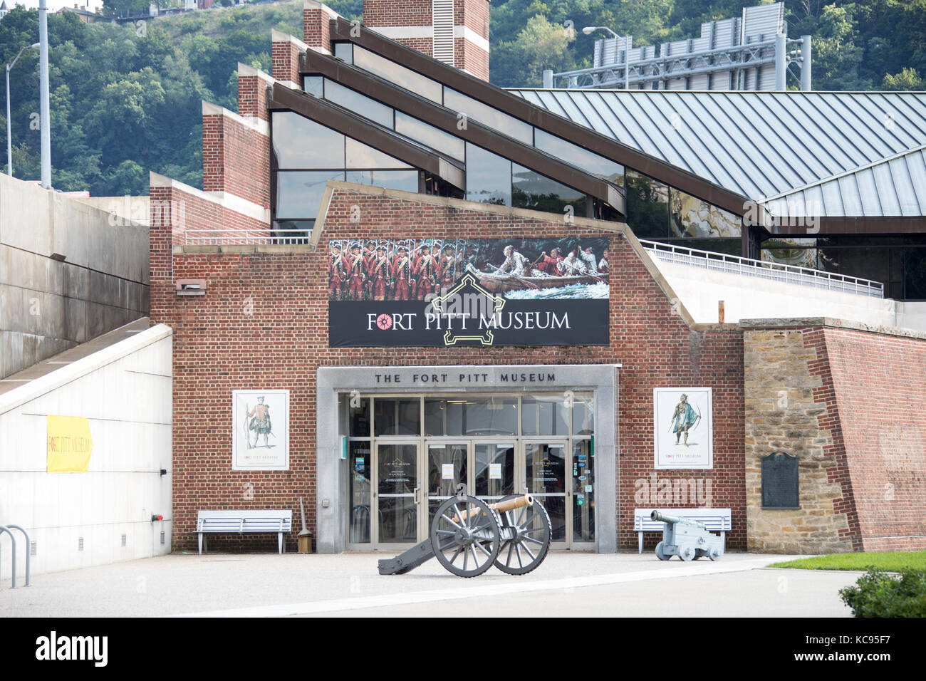 Fort Pitt Museum,, Point State Park, Pittsburgh, PA, USA Stock Photo