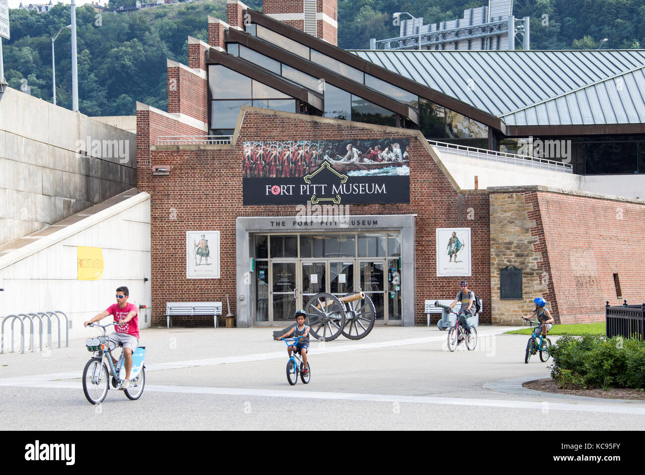 The Fort Pitt Museum, Pittsburgh, PA, USA Stock Photo