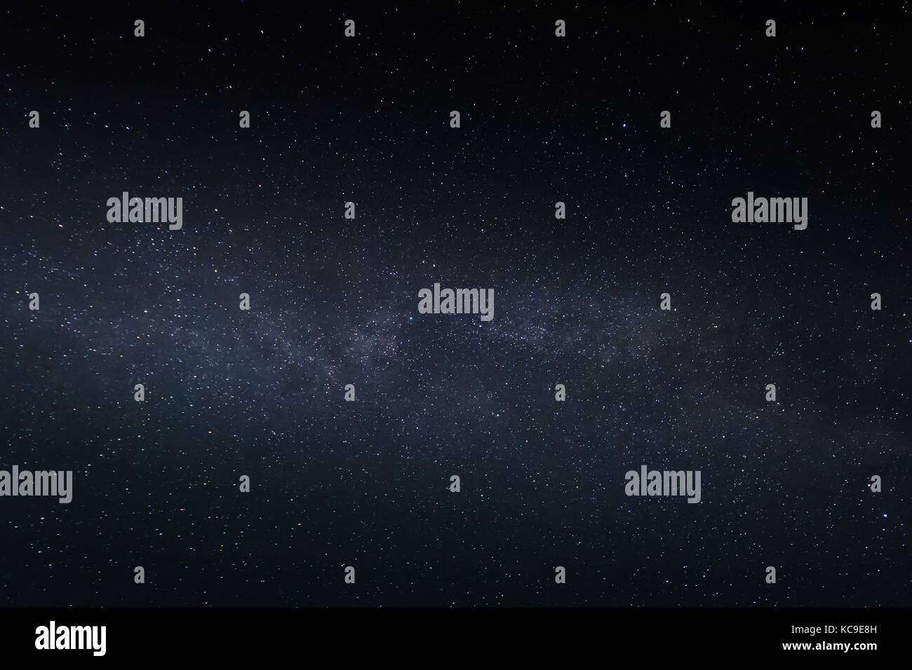 Galaxy stars night sky - Stock Image