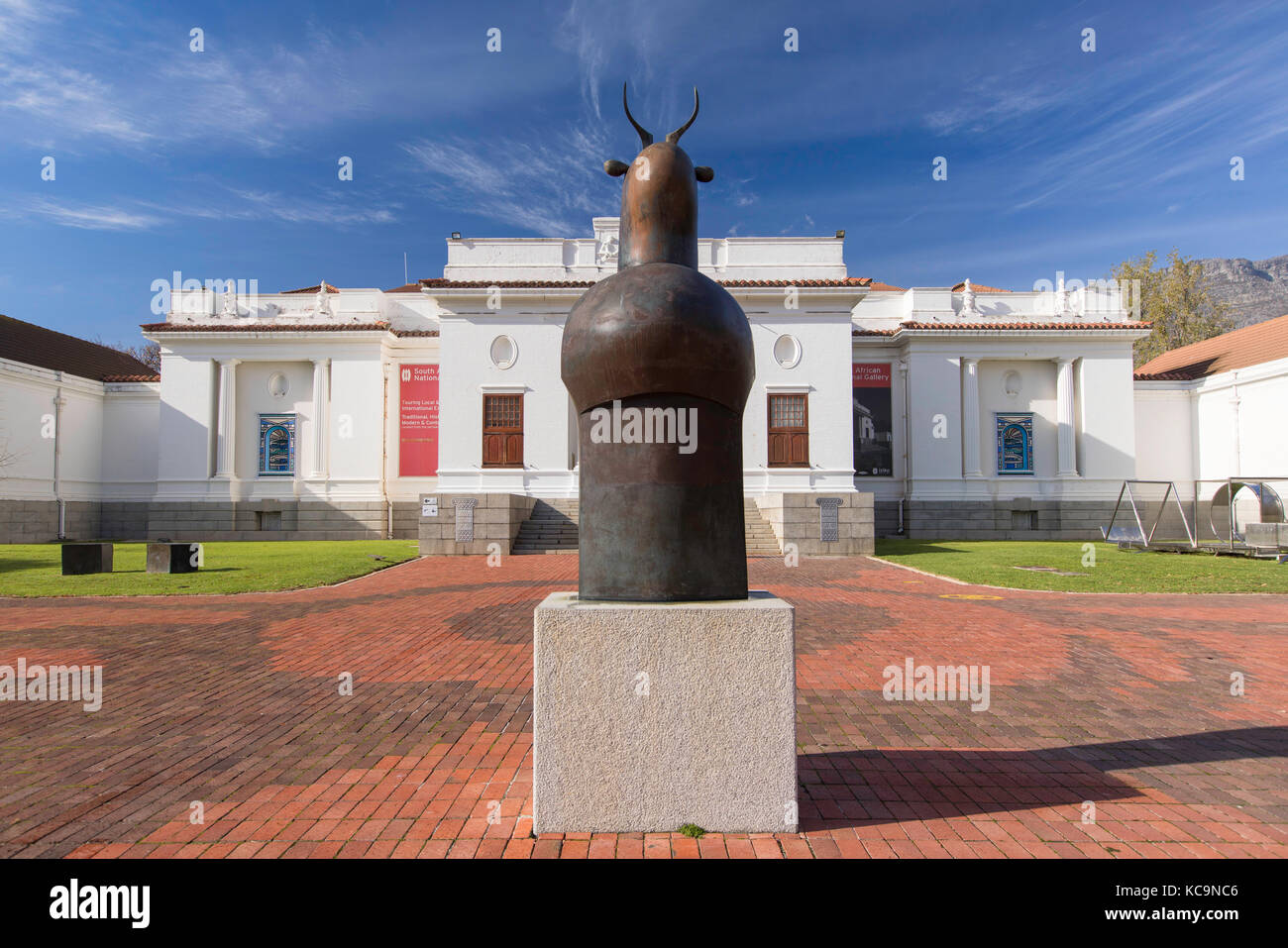 South African National Gallery, Company's Garden, Cape Town, Western Cape, South Africa - Stock Image