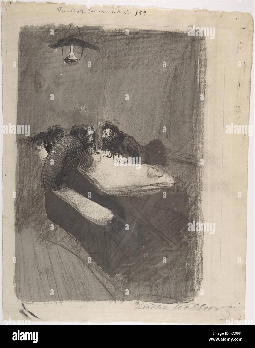 The Weavers, Käthe Kollwitz, late 19th–mid-20th century - Stock Image