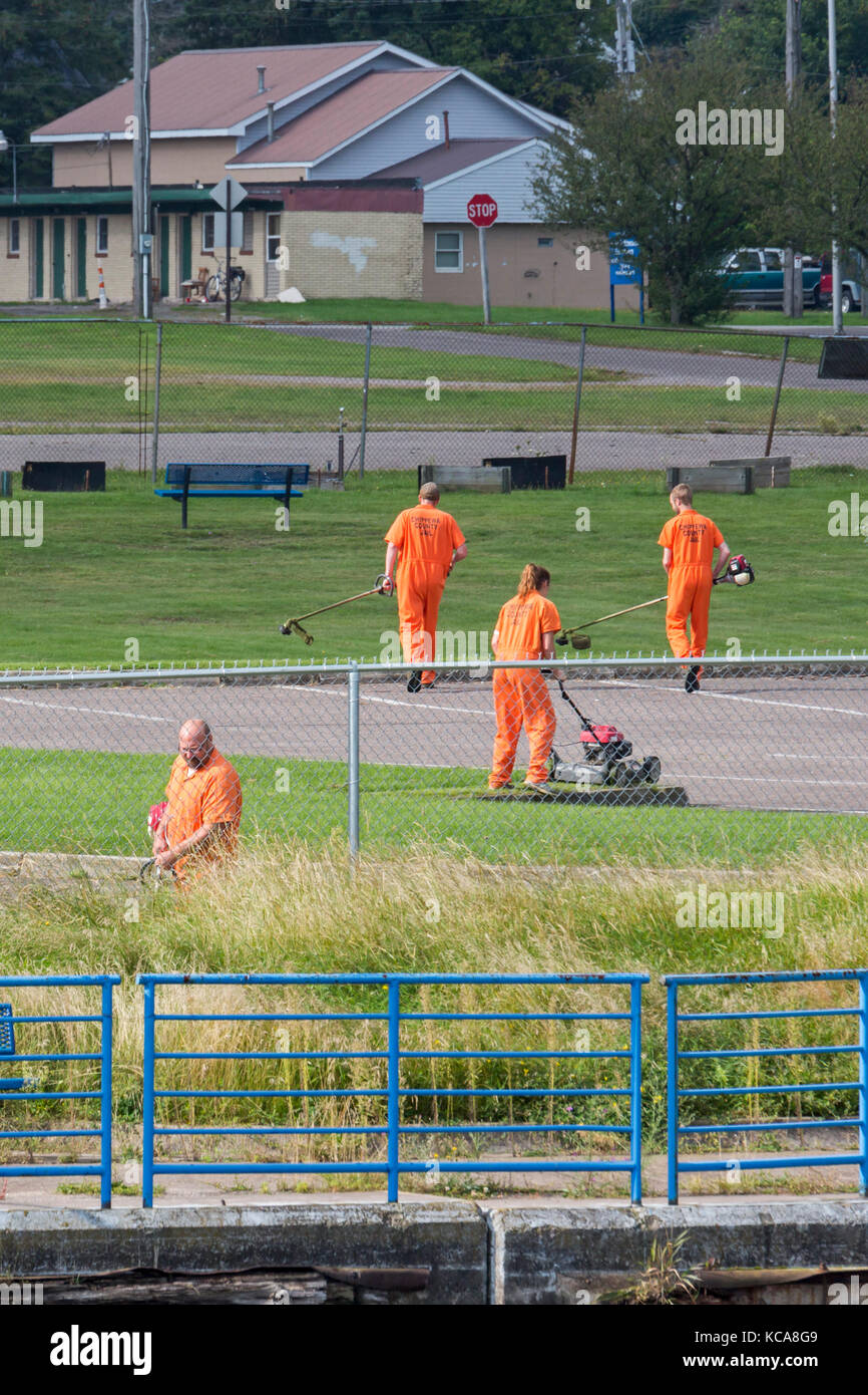 County Jail Inmates Stock Photos & County Jail Inmates Stock