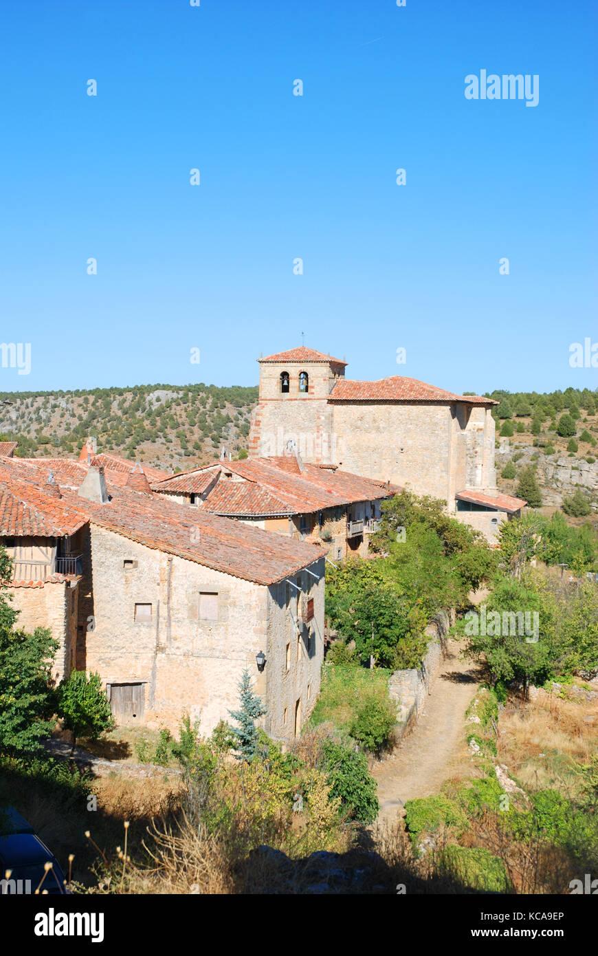 Calatañazor, Soria province, Castilla Leon, Spain. - Stock Image