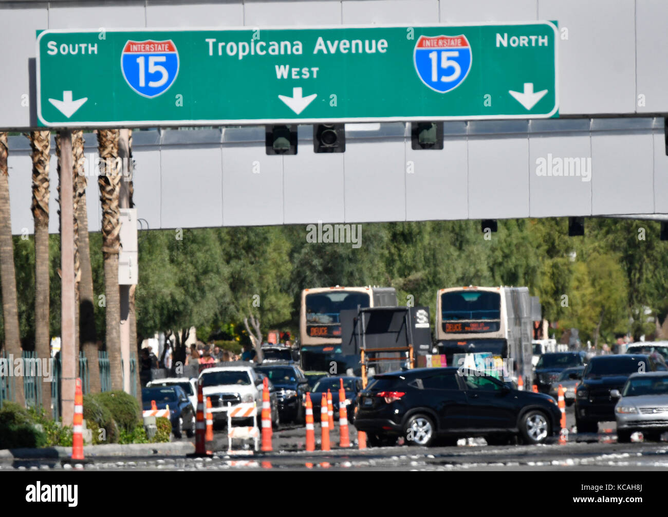 Las Vegas Shooting Aftermath Stock Photos & Las Vegas