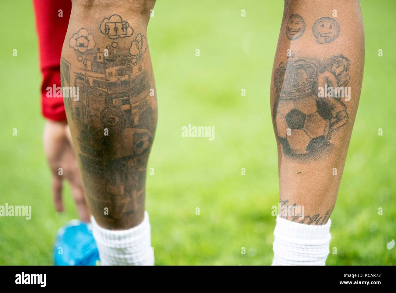 soccer tattoos stock photos soccer tattoos stock images alamy. Black Bedroom Furniture Sets. Home Design Ideas
