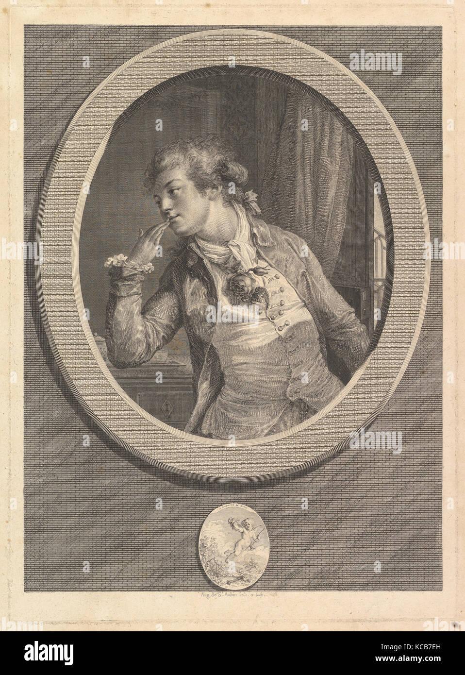 Comptez sur Mes Serments (Count On My Oaths), Augustin de Saint-Aubin, 1789 - Stock Image