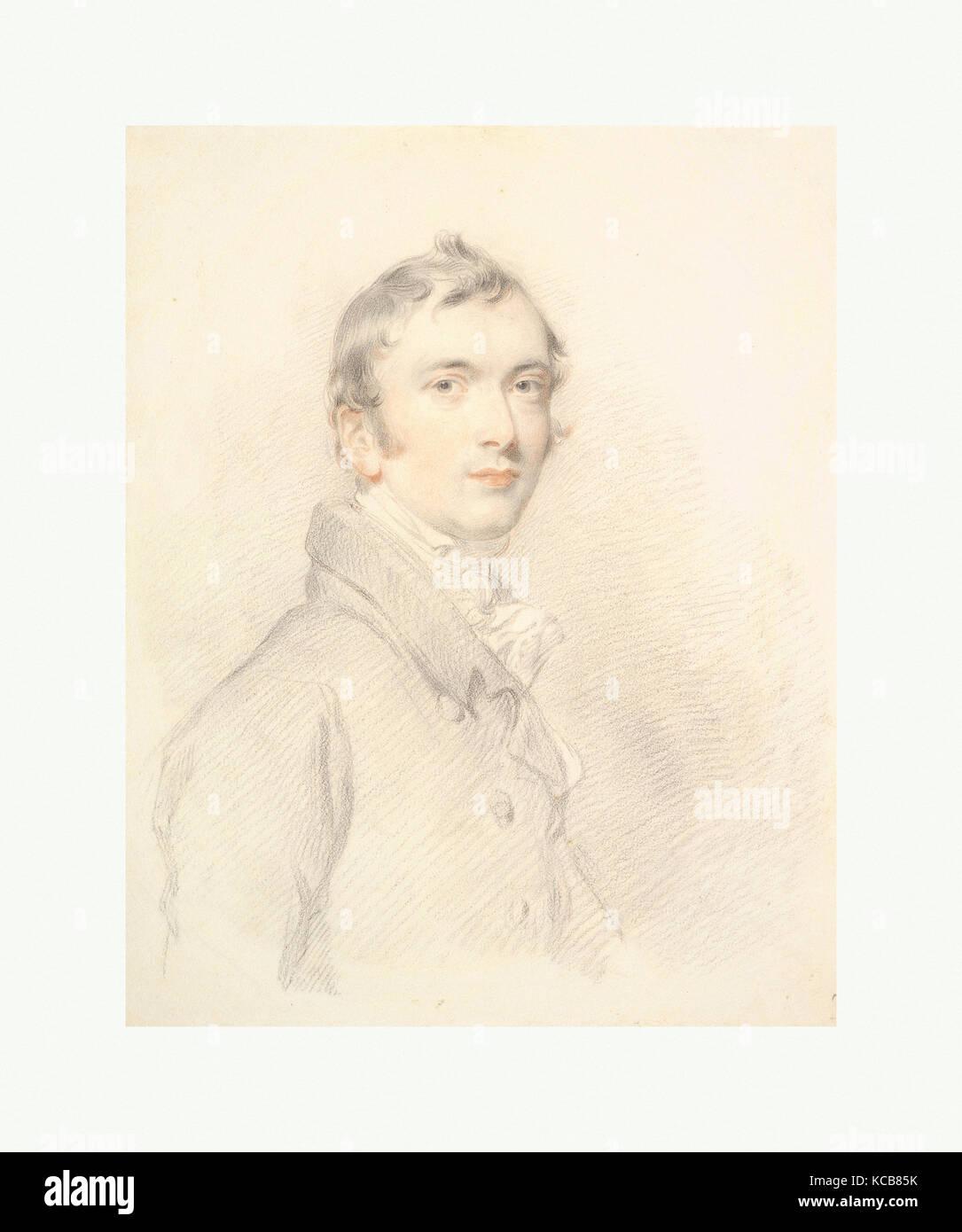 Benjamin Rouse, Junior, Sir Thomas Lawrence, 1813 - Stock Image