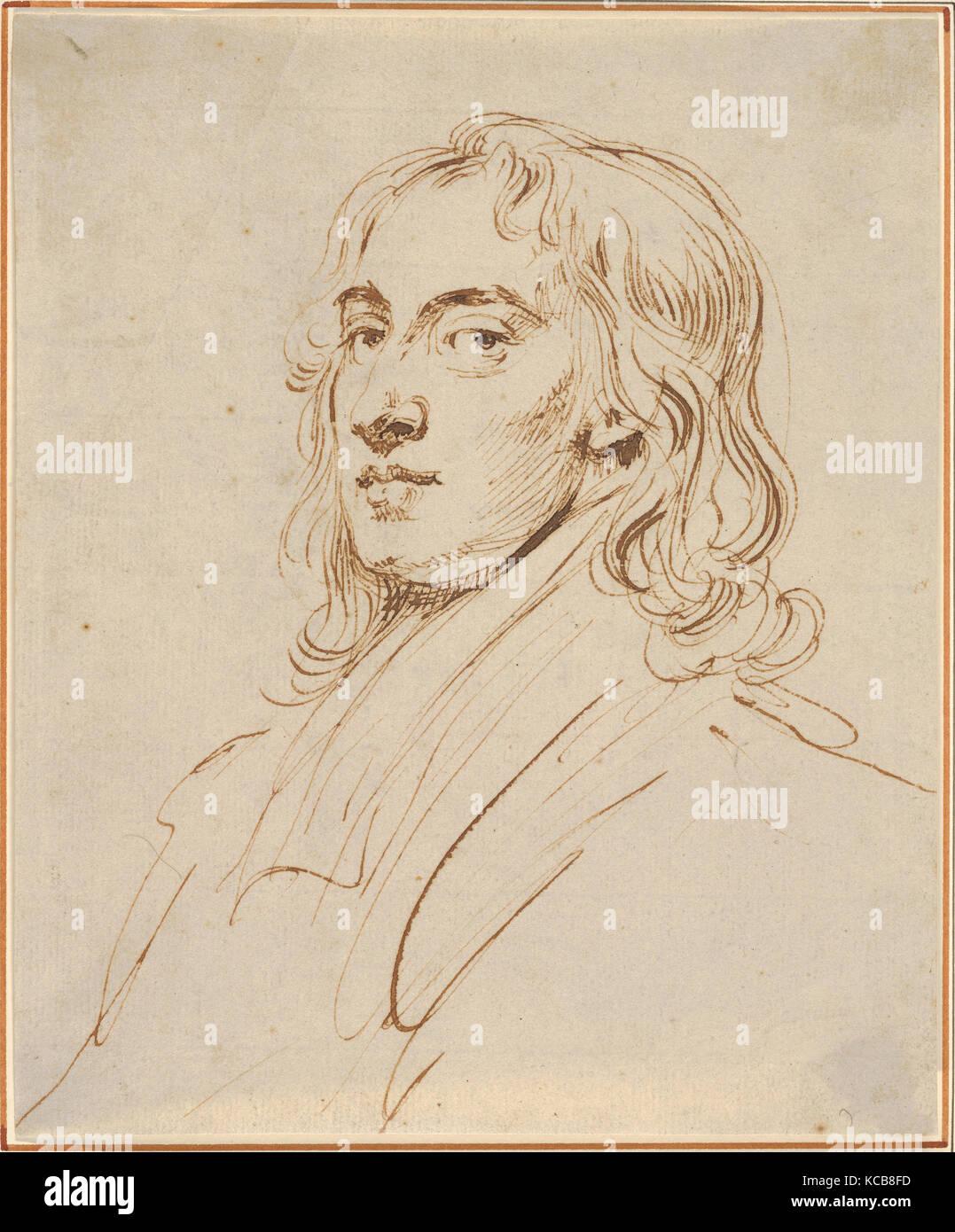 Self-Portrait, John Vanderbank, the younger, ca. 1720 - Stock Image