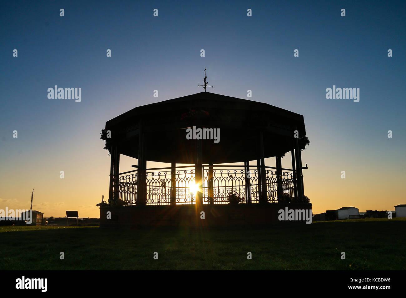 Walmer Memorial Bandstand - Dawn - Stock Image