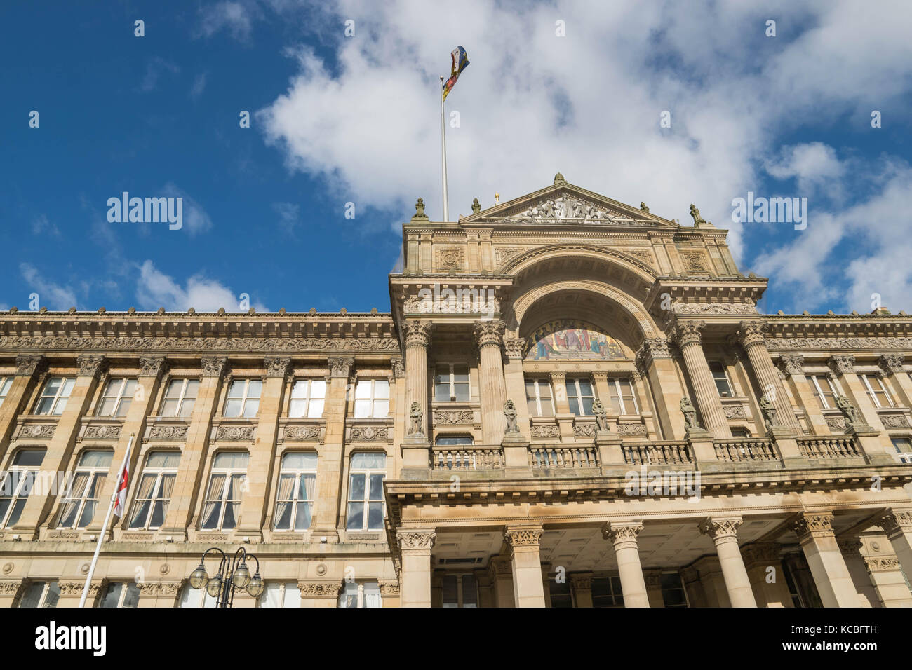 Birmingham, UK, October 3rd, 2017: Birmingham city council - Stock Image
