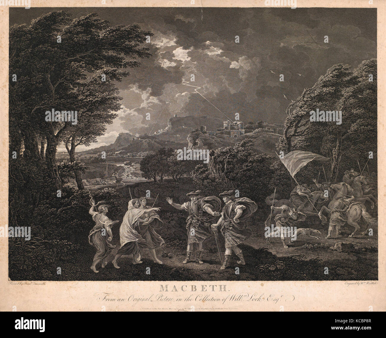 the influence of the witches on macbeths decisions in the play macbeth Free essay: macbeths downfall in the beginning of the play macbeth, macbeth is a successful and noble thane of glamis the witches tell macbeth prophecies.