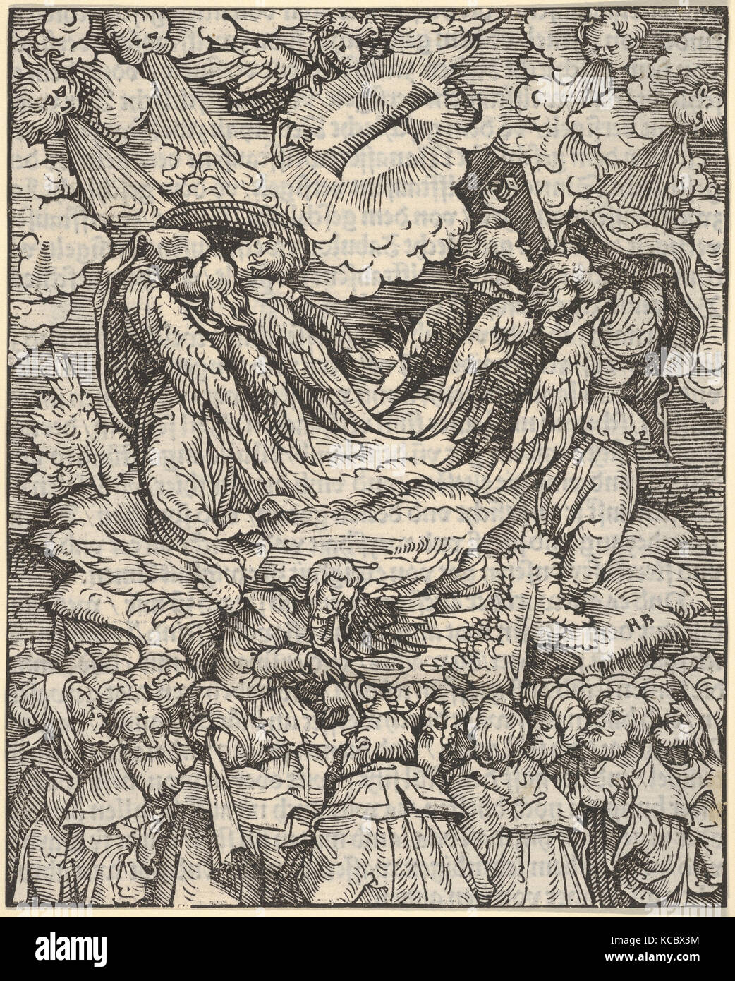 Designation of the Elect, from The Apocalypse, Hans Burgkmair, 1523–24 - Stock Image