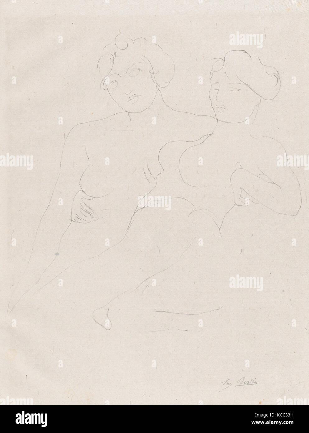 'Petite, petite amie de mes seins et mon ame...', Auguste Rodin, 1902 - Stock Image