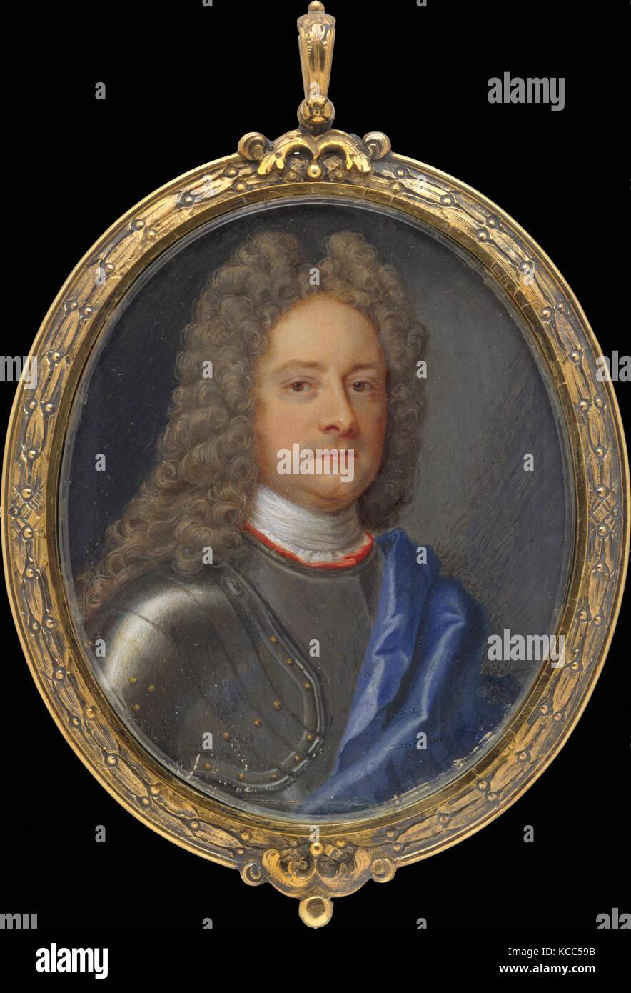 John Churchill (1650–1722), First Duke of Marlborough, Christian Richter - Stock Image