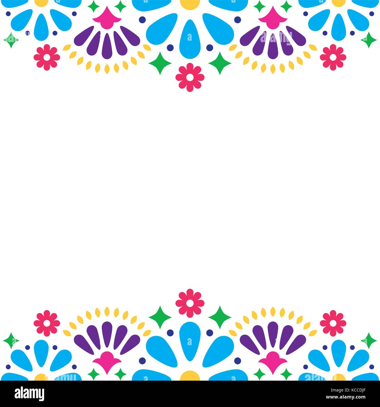 Mexican folk vector wedding or party invitation floral happy stock mexican folk vector wedding or party invitation floral happy greeting card colorful design with flowers and abstract shapes stopboris Choice Image