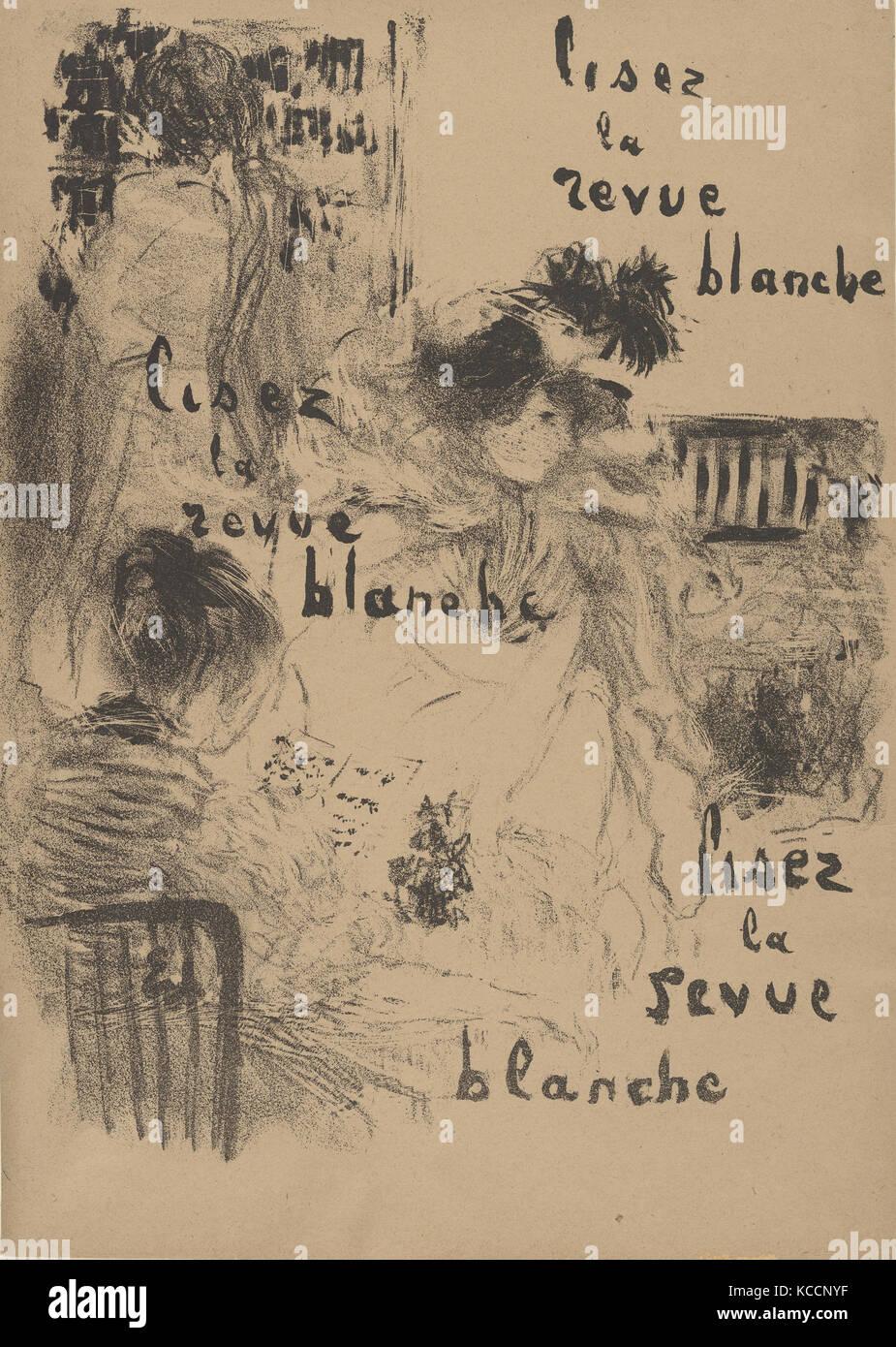 Lisez la Revue Blanche, Édouard Vuillard, late 19th–mid-20th century - Stock Image