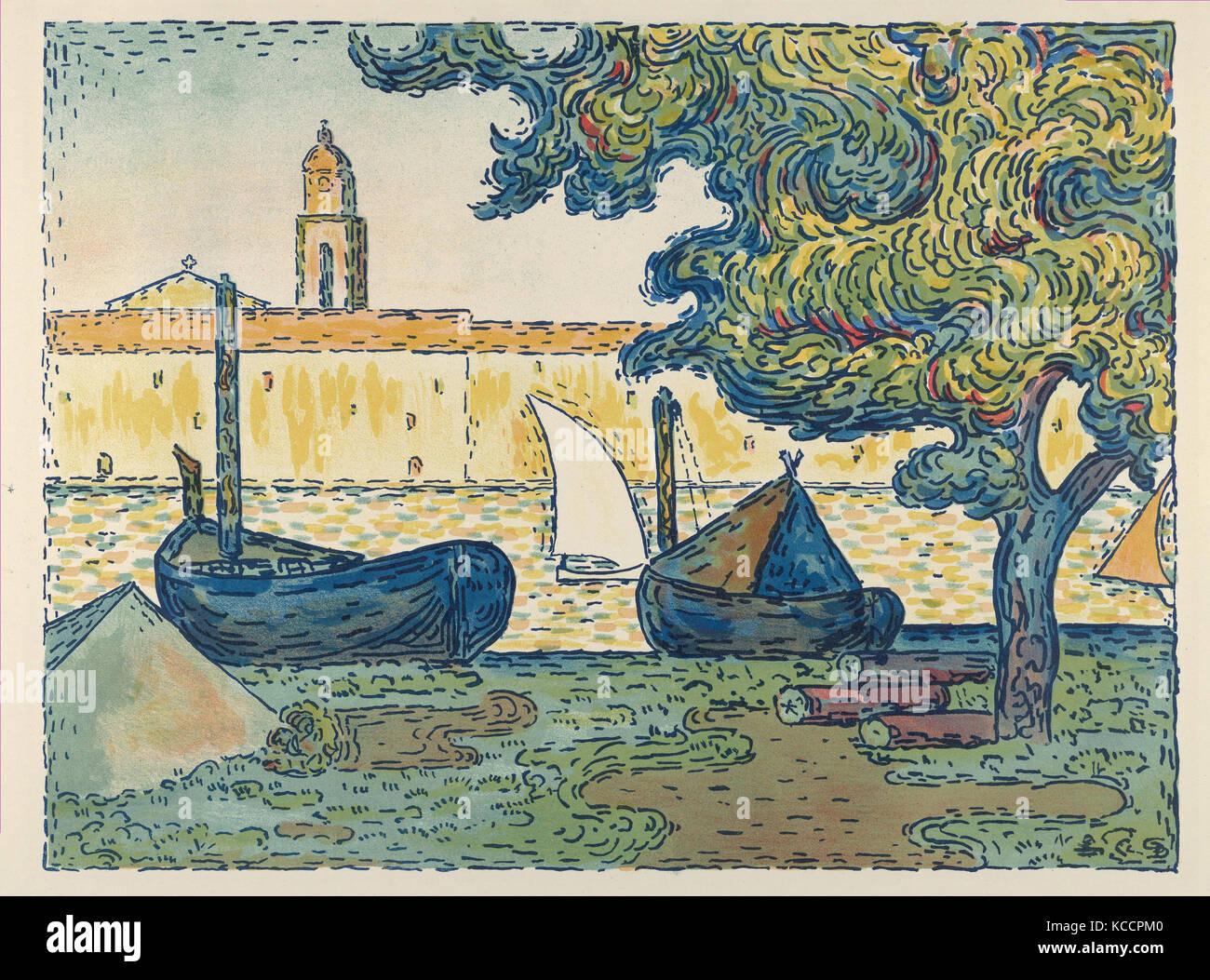 En commun Paul Signac Saint Tropez Stock Photos & Paul Signac Saint Tropez #FV_46